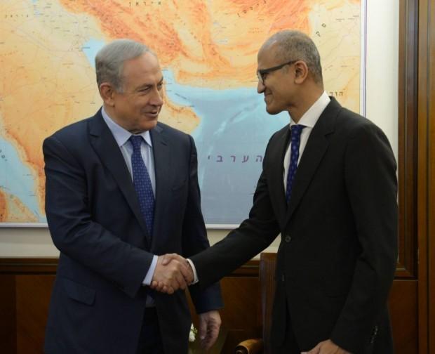 دیدار با بنیامین نتانیاهو نخستوزیر اسرائیل