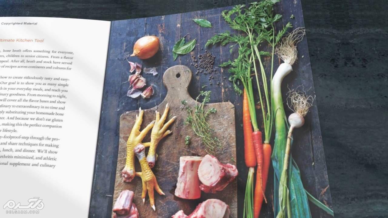 Strengthening the bones of the body by feeding