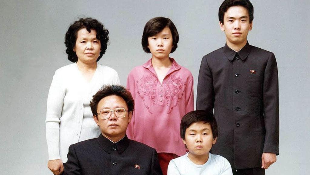 خانواده کیم جونگ-اون رهبره کره شمالی