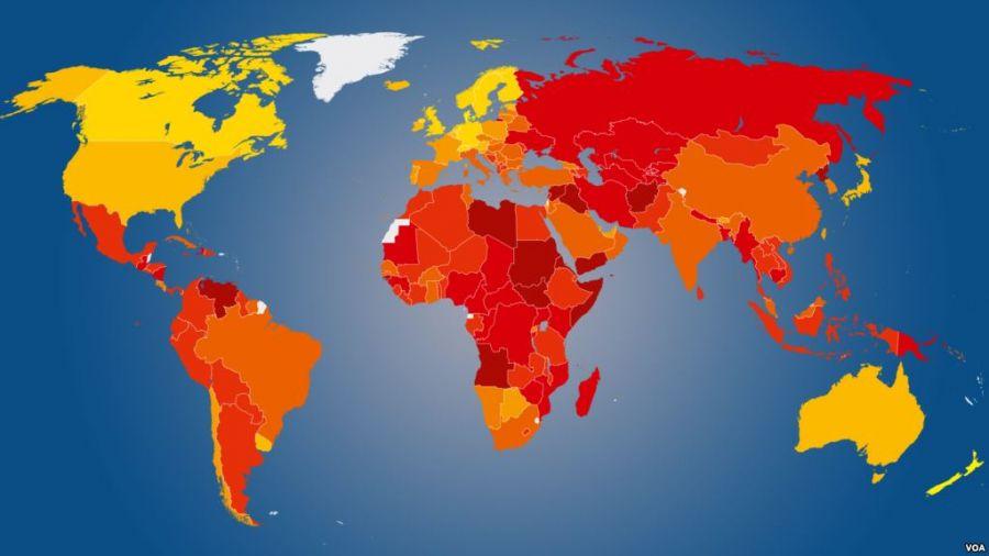 بزرگترین و پهناورترین کشورهای جهان