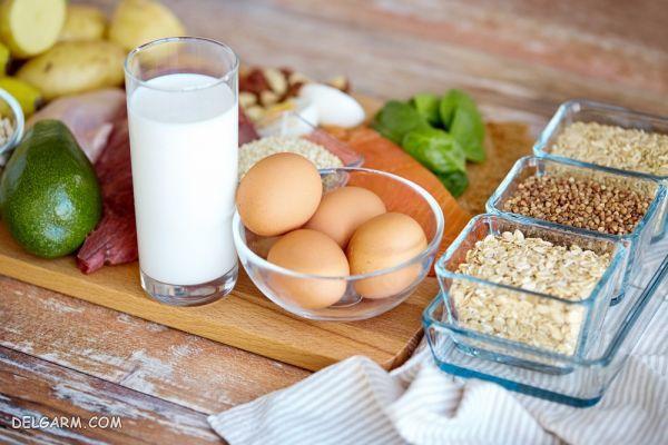 رژیم غذایی سالم برای حفظ تناسب اندام