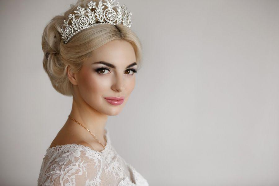 ۳۸ مدل تاج عروس جدید و شیک | تاج عروس فرحی