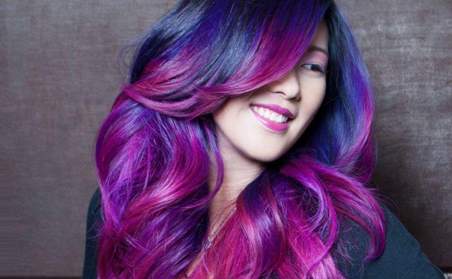 رنگ موی فانتزی دخترانه | فانتزی , جدید و شیک