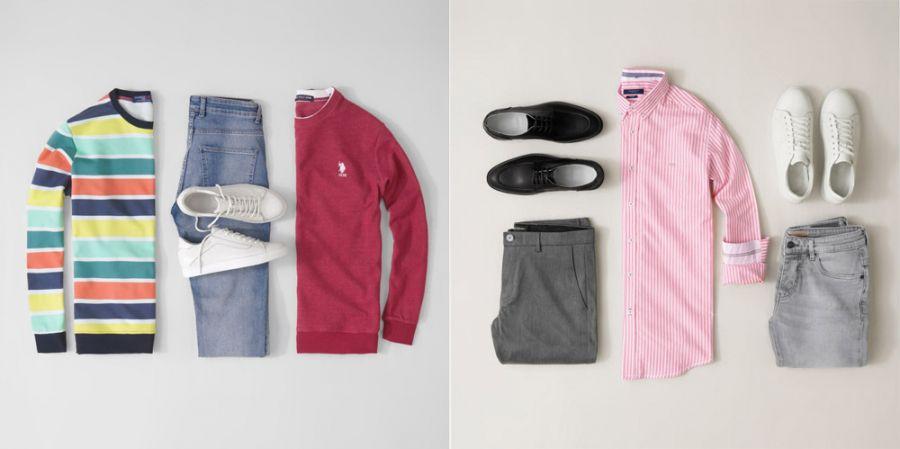 ۶۵ پیشنهاد برای ست لباس و شلوار و کفش مردانه | ستهای لباس مردانه