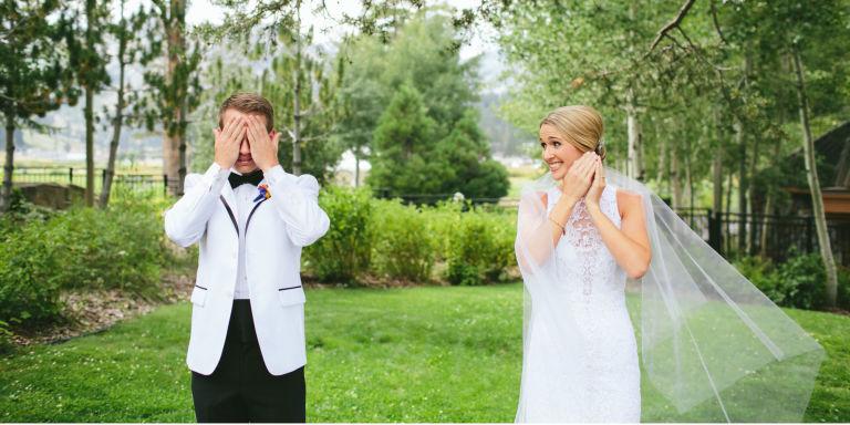 عروس و داماد شب عروسی و واکنش داماد نسبت به عروس در اولین نگاه