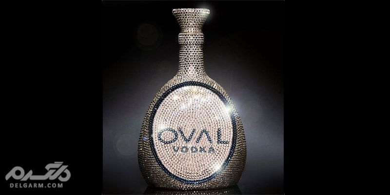 ودکا اُوال سوآروسکی کریستال(OVAL Swarovski Crystal Vodka)