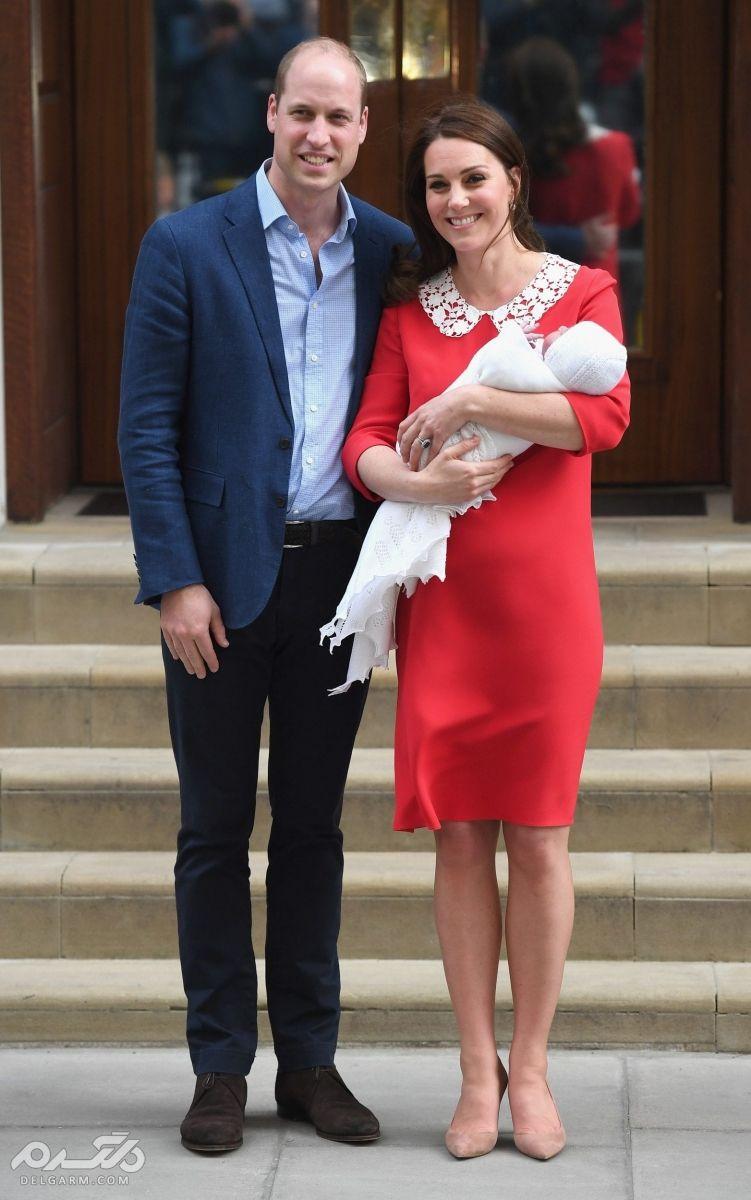 فرزند سوم پرنس ویلیام و همسرش کیت میدلتون (نوه سوم ملکه انگلستان)