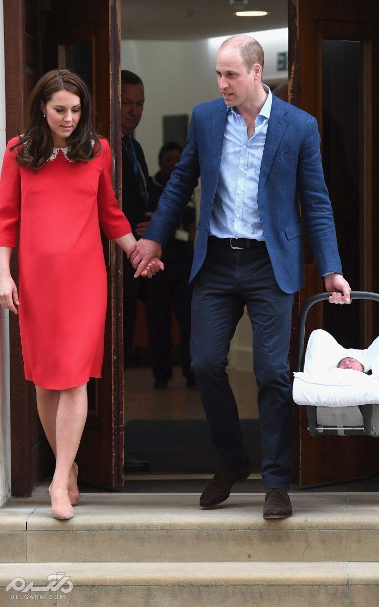 فرزند سوم خانواده سلطنتی انگلستان به دنیا آمد