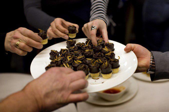 شکلات با طعم حشرات