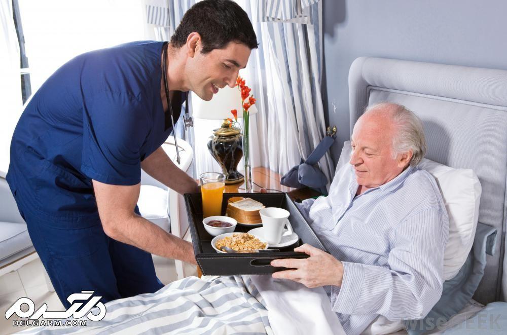 لیستی از میوه و خوراکی های مناسب برای عیادت از بیماران
