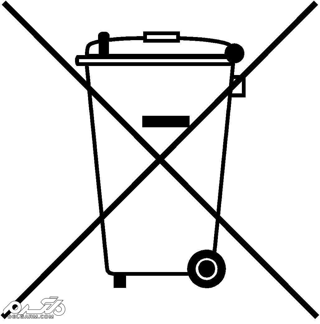 WEEE یا سطل زباله: