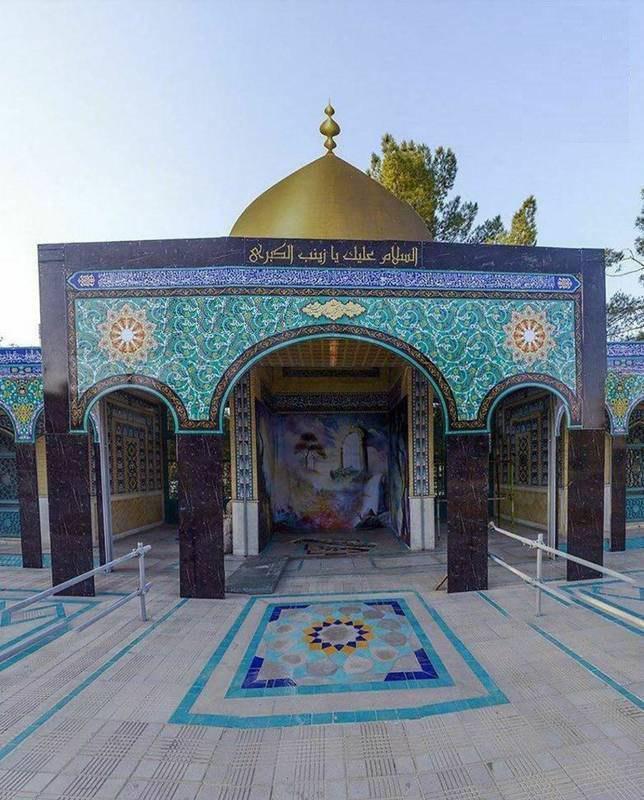 حال و روز مقبره شهید حججی
