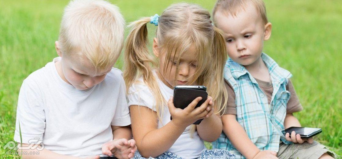 عوارض تلفن همراه برای کودکان