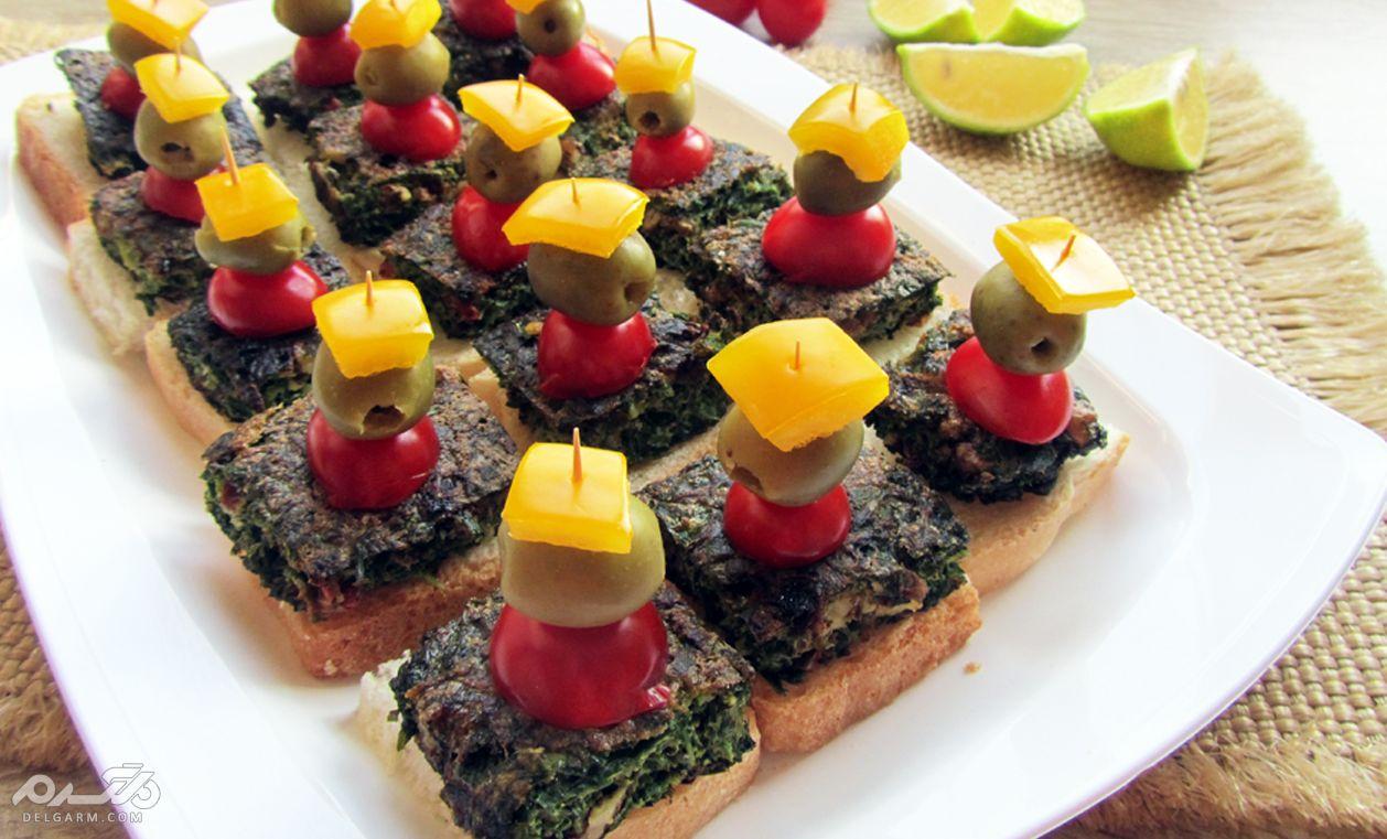 طرز تهیه 8 نوع غذای انگشتی (فینگر فود) ساده و خوشمزه