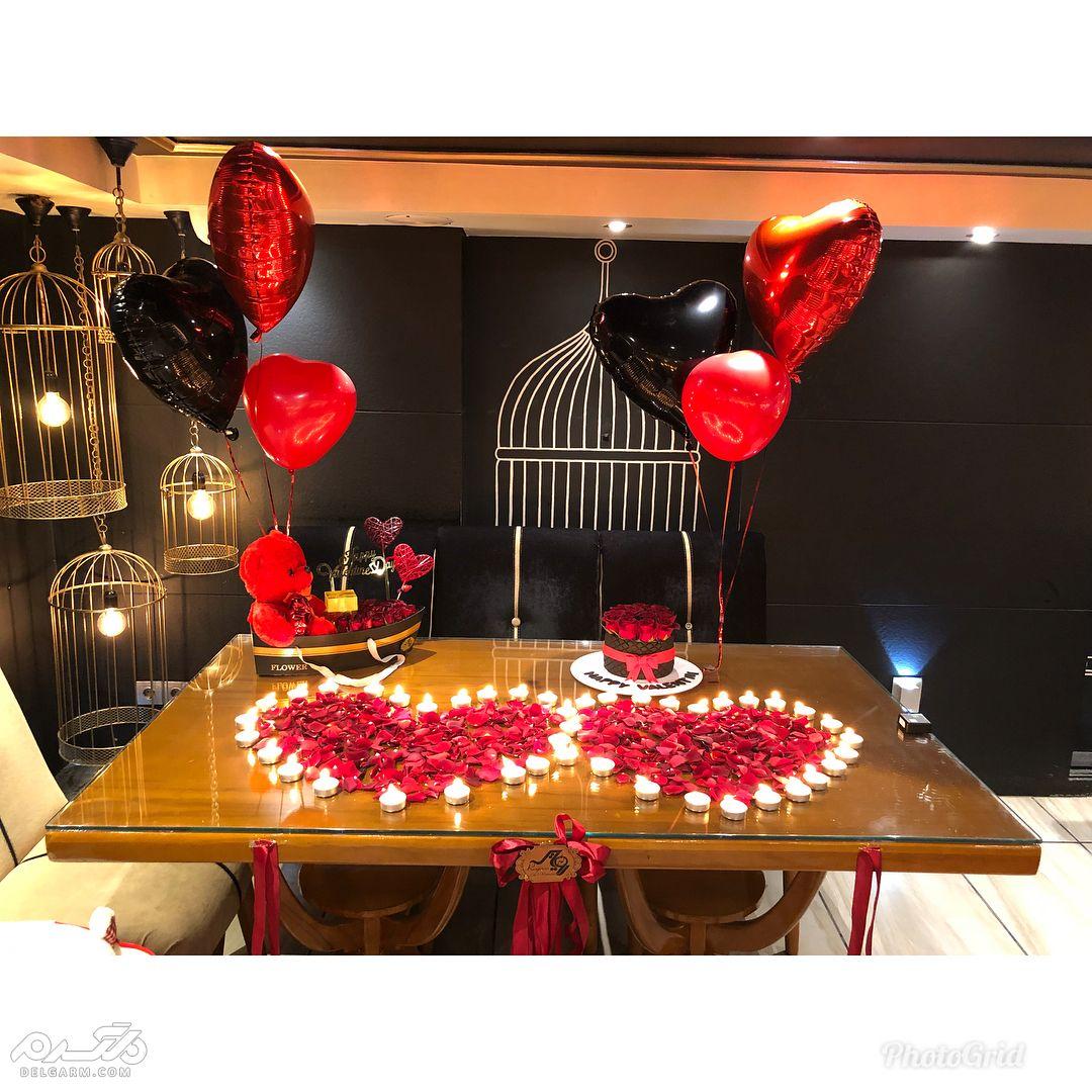تزیین منزل برای تولد عشقتان