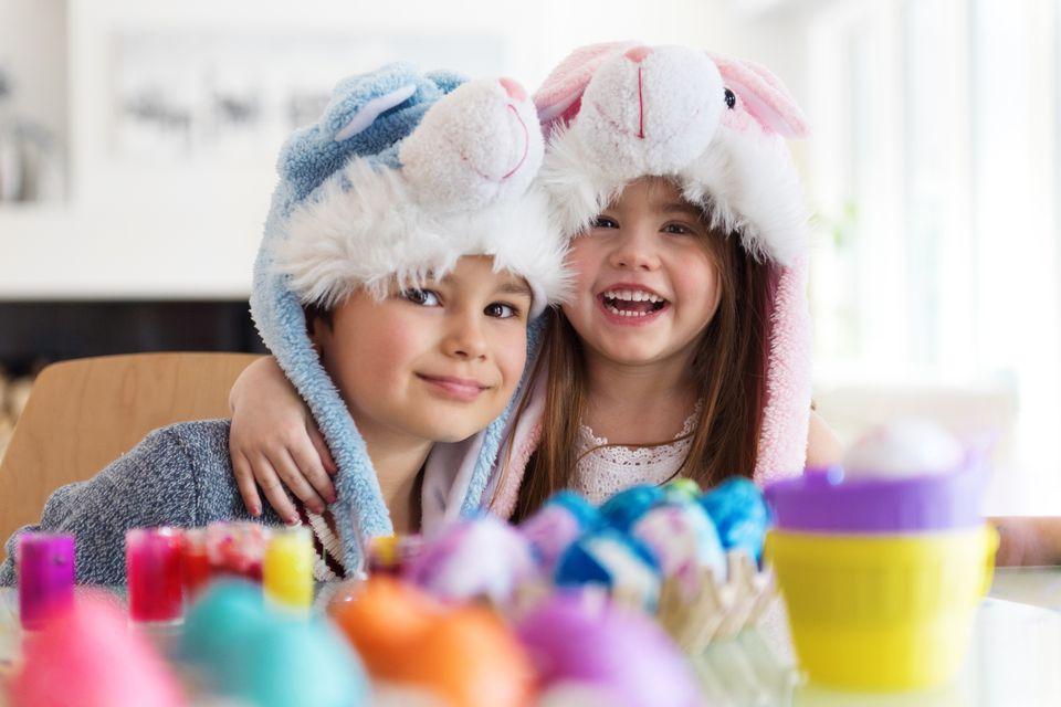 ایده نوروزی: تخممرغ رنگیهای کودکانه
