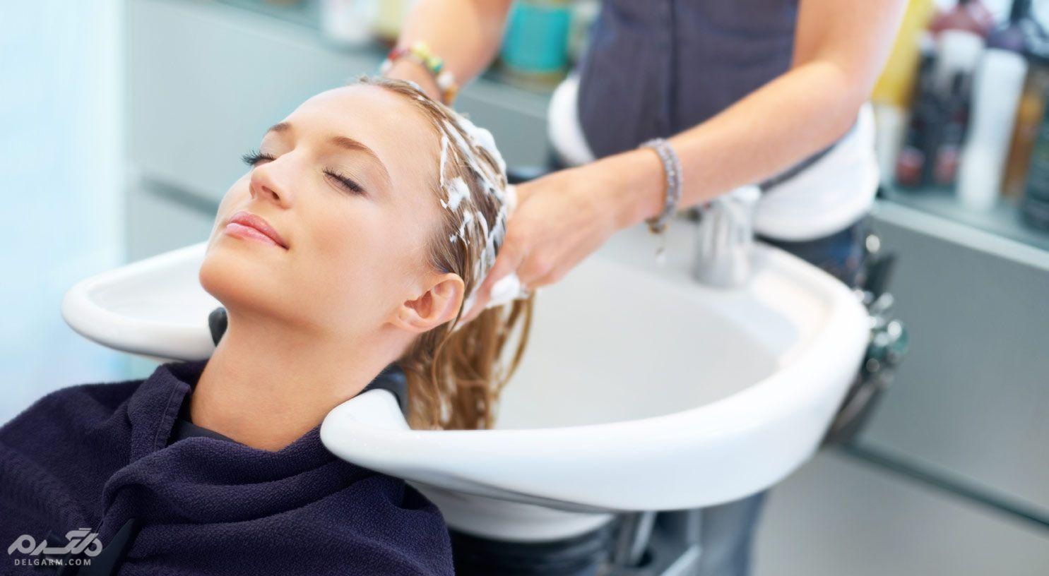 Head hair washing