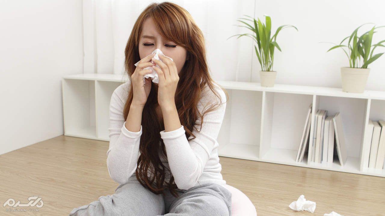 حساسیت بدن به پارچه های پلیاستر