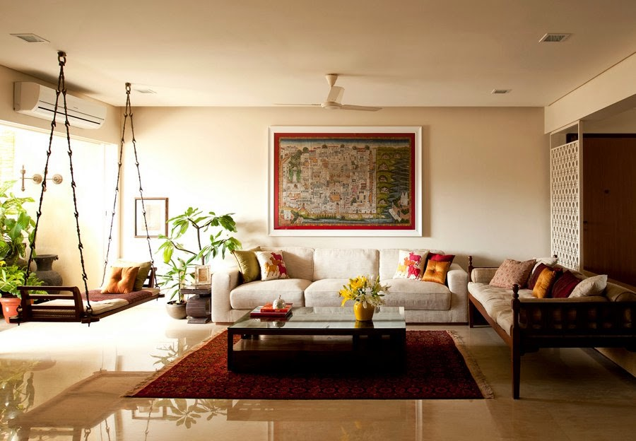 دکوراسیون منزل به سبک هندی