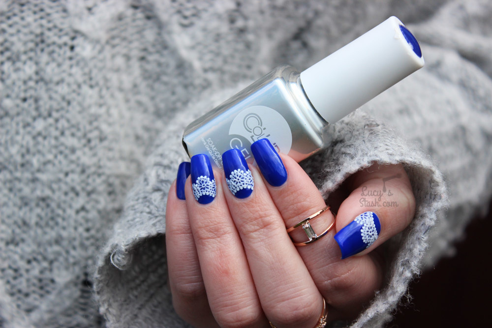 ایده های زیبای طراحی ناخن به رنگ آبی + عکس