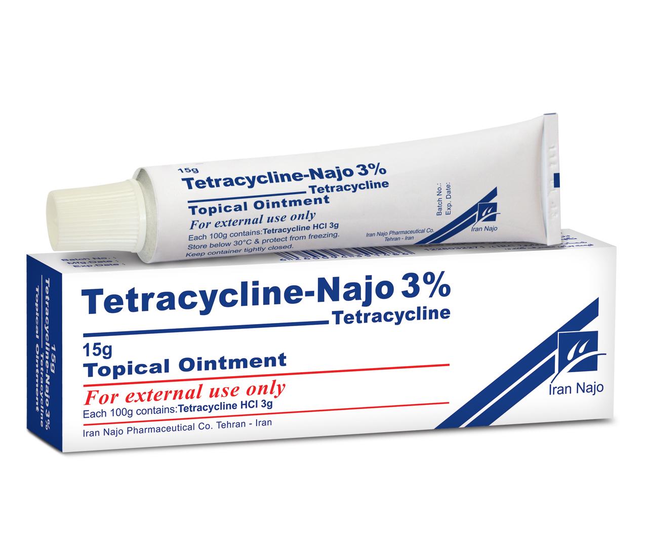 تتراسایکلین (پماد موضعی 3%)
