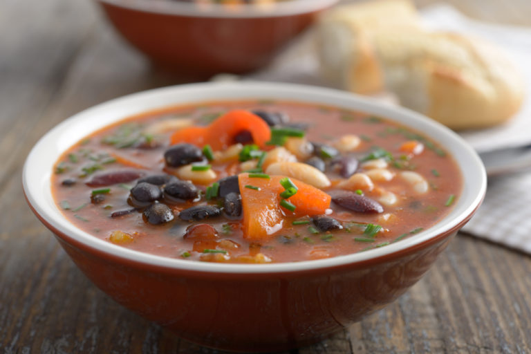 سوپ لوبیا   طرز تهیه ی سوپ لوبیا و گوشت