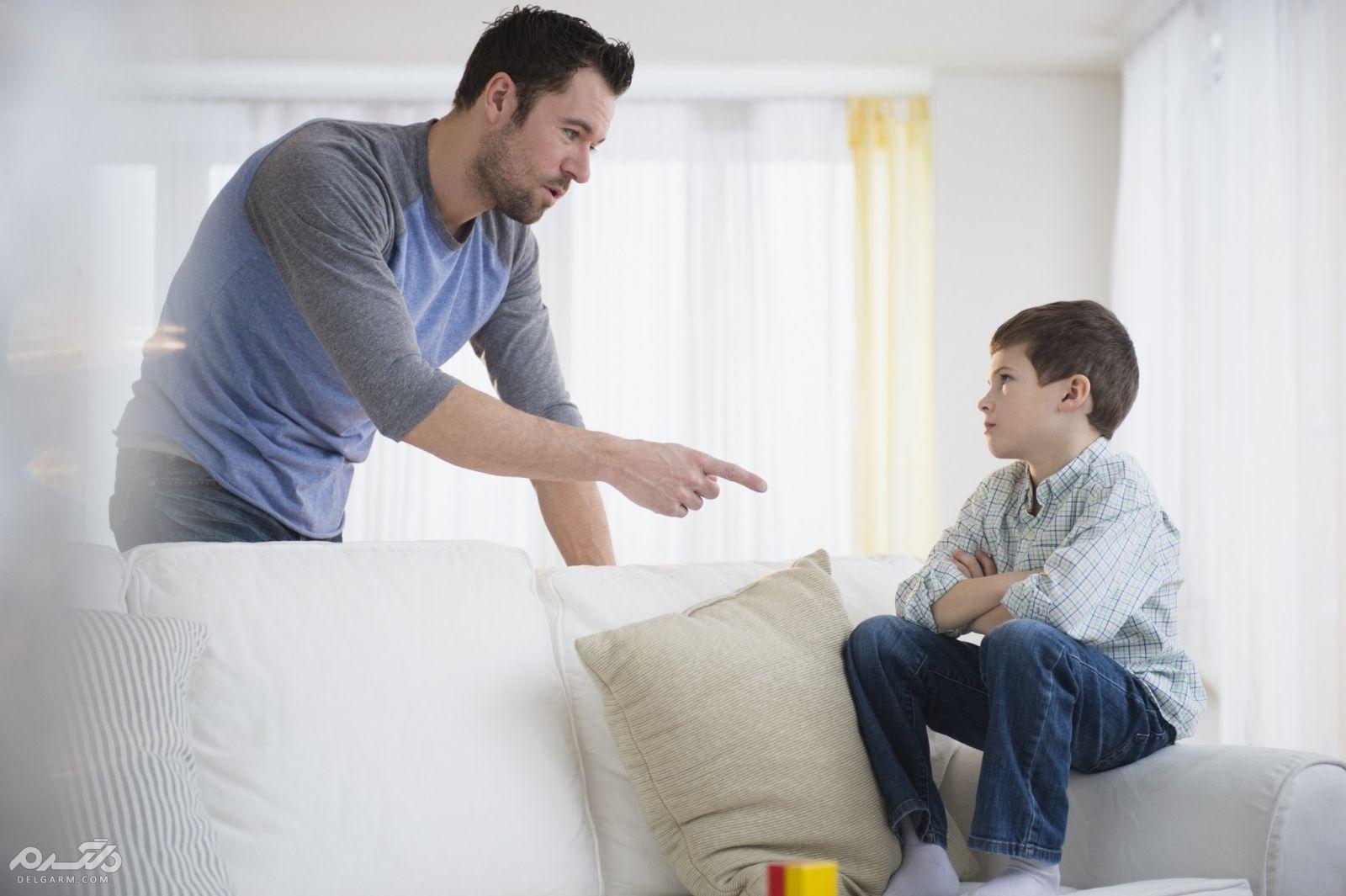 رفتار مناسب به جای تنبیه بدنی در کودکان