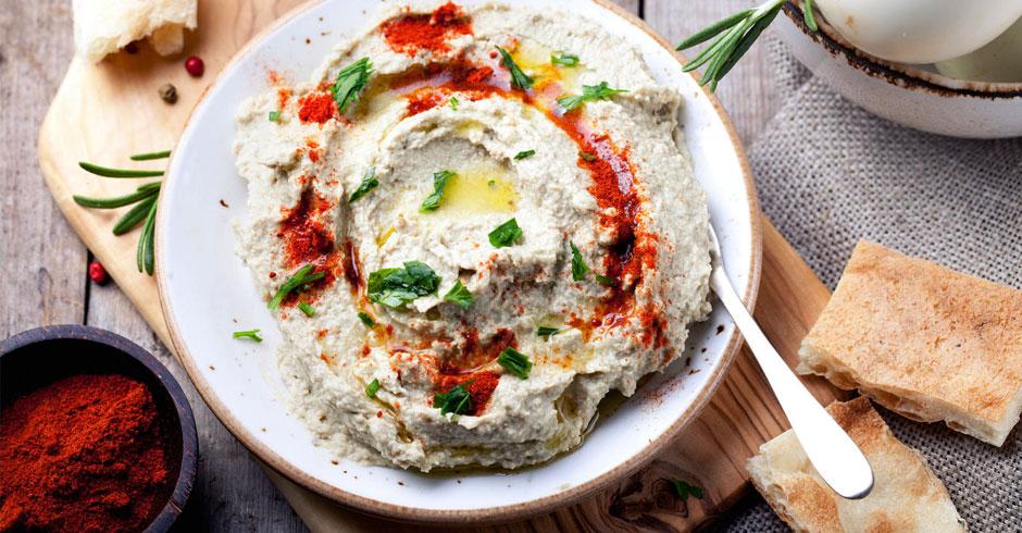 باباغنوج، پیش غذایی لبنانی (بابا گانوش)