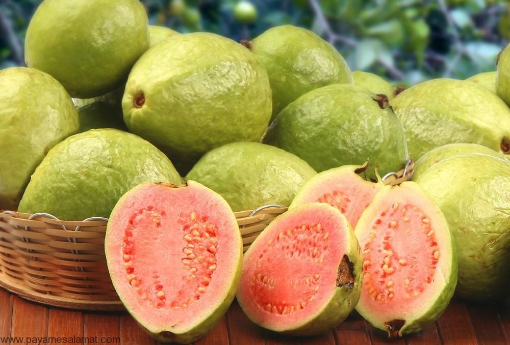 فواید شگفت انگیز میوه گواوا