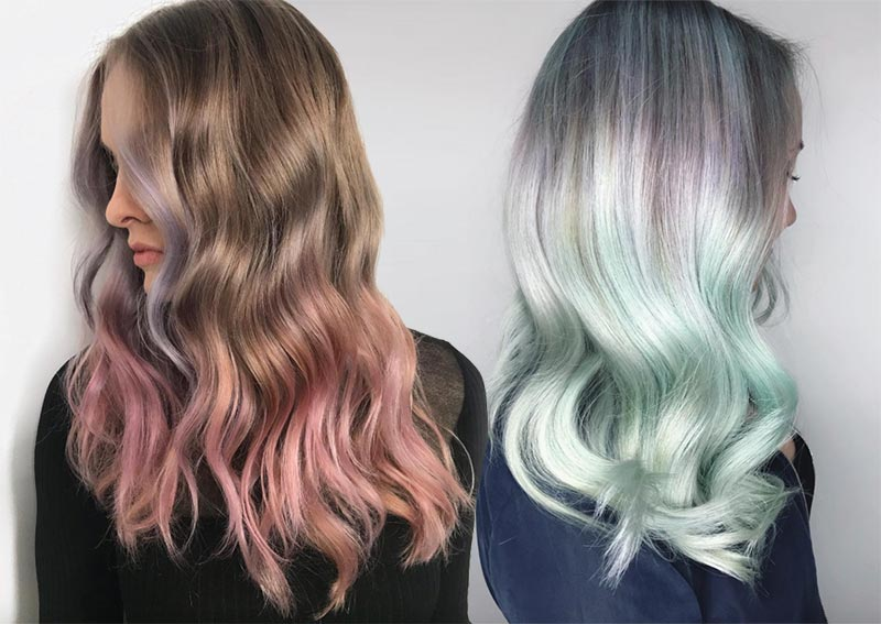 پرطرفدارترین رنگ مو در سال 2019