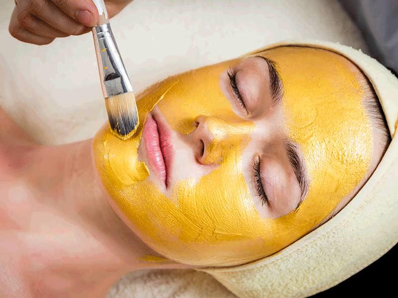 درمان جوش صورت با ماسک زنجبیل