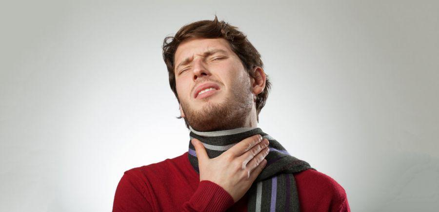 التهاب و درد یک طرفه گلو و درمان این عارضه