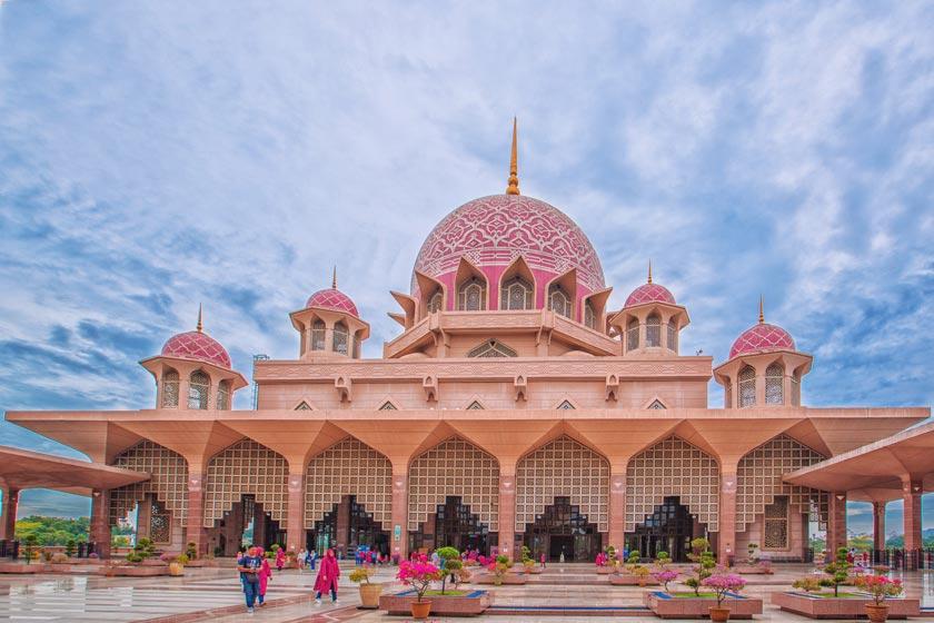 معرفی مسجد صورتی در مالزی