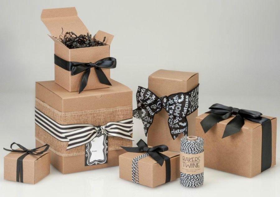 ایده ی خلاقانه بسته بندی کادو