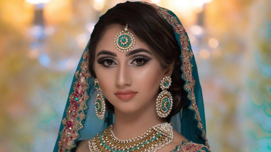 مدل آرایش صورت عروس افغانی زیبا
