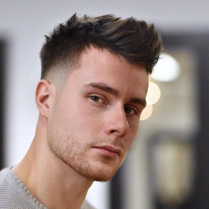 مدل مو مردانه و پسرانه کوتاه | موی خامه ای ، جدید و ساده مردانه ...