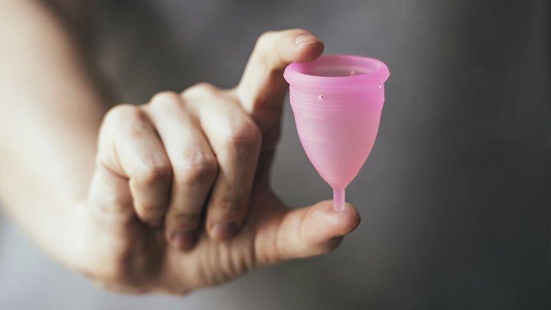 فنجان قاعدگی + نحوه استفاده از فنجان قاعدگی