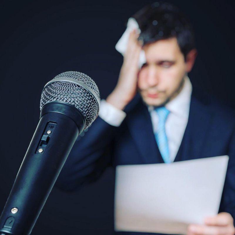 راهکار علمی برای غلبه بر ترس هنگام سخنرانی