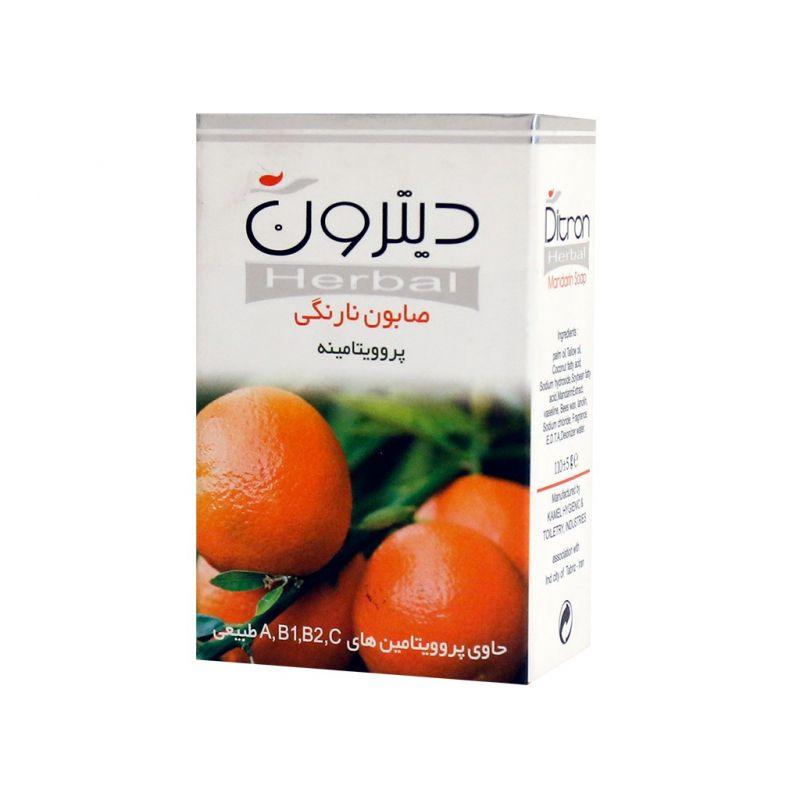صابون نارنگی دیترون پروویتامین و روشن کننده