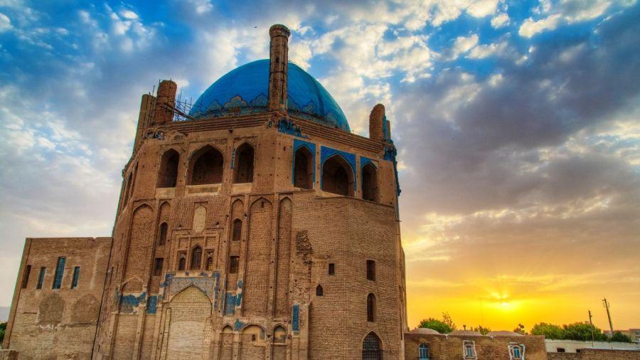 گنبد سلطانیه سومین بنای عظیم آجری در جهان