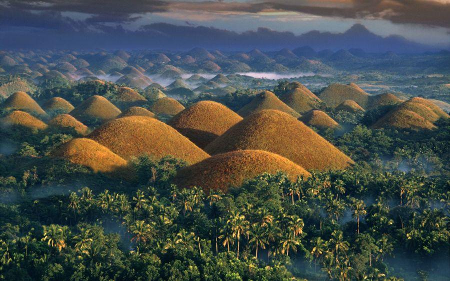 تپه های شکلاتی بهل فیلیپین |جاذبه های گردشگری فیلیپین