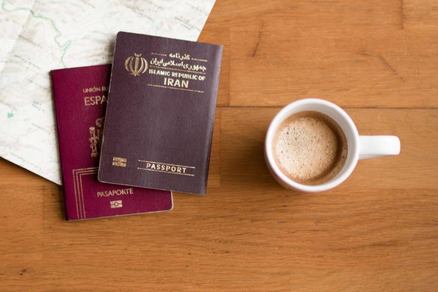 تفاوت ویزا و پاسپورت