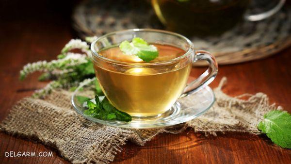 دمنوش گیاهی برای کاهش درد پریودی