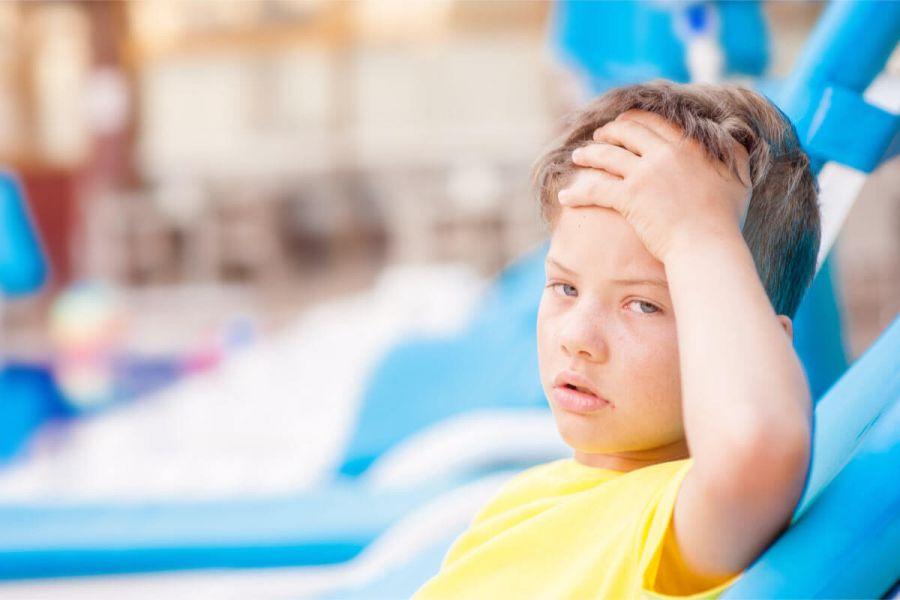 روشهای طب سنتی برای رهایی از گرمازدگی کودک