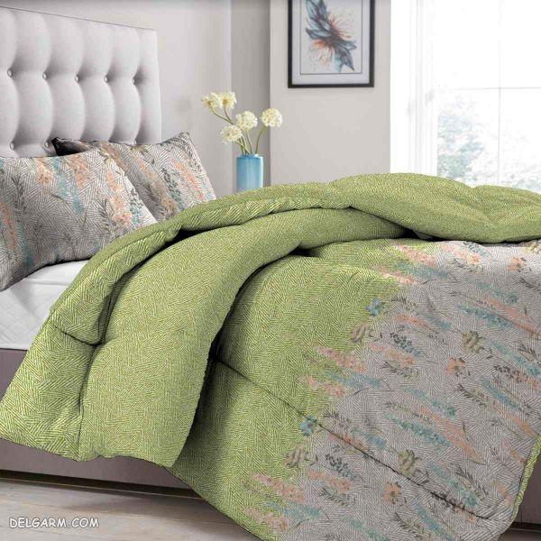 رو تختی های زیبا رنگ سبز