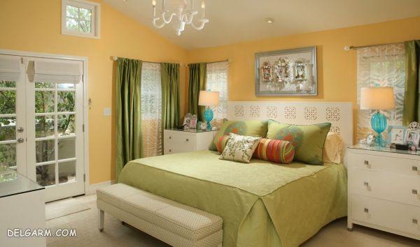 رو تختی های زیبا رنگ فسفری