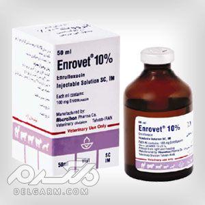 درمان عفونتهای گوارشی ، تنفسی ، ادراری ، پوستی و بافت های نرم با انروفلوکساسین (انرووت)