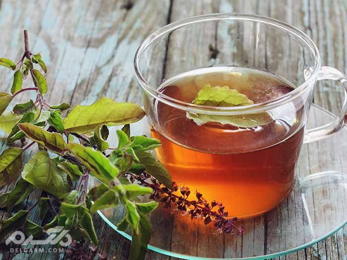 خواص دارویی و درمانی چای ریحان ، دمنوش ربحان
