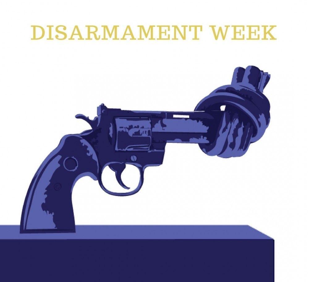 ۲ آبان مصادف با ۲۴ اکتبر تا ۳۰ اکتبر آغاز هفته جهانی خلع سلاح