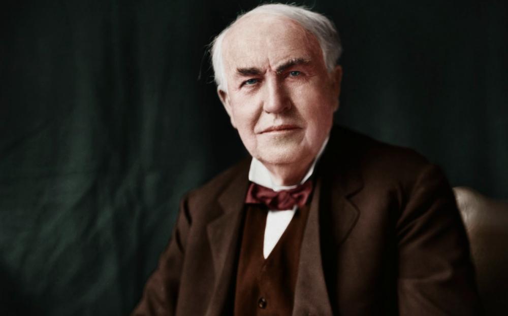 پیامهای زیبا و پند آموز از سخنان توماس ادیسون